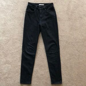 Levis Factory Outlet 721 High Rise Skinny Jeans